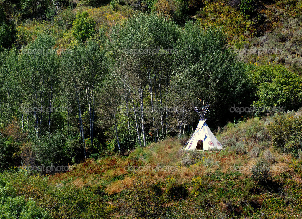 TeePee in Wilderness
