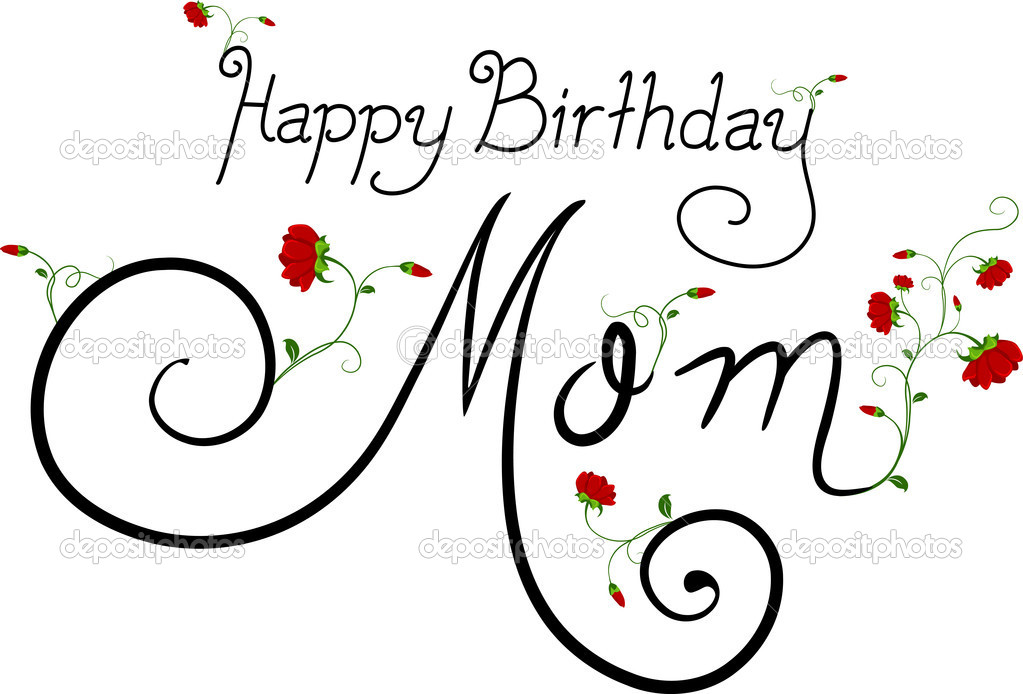 Alles Gute Zum Geburtstag Mama Stockfoto C Lenmdp 7477315