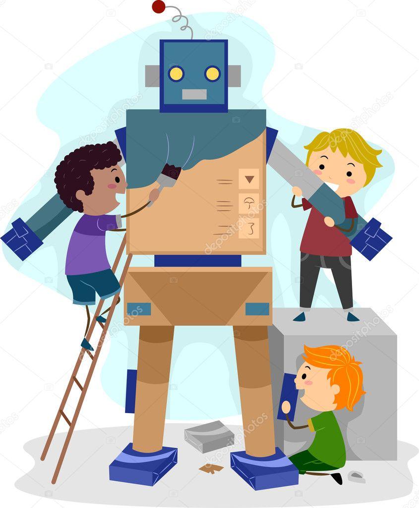Znalezione obrazy dla zapytania robotyka clipart