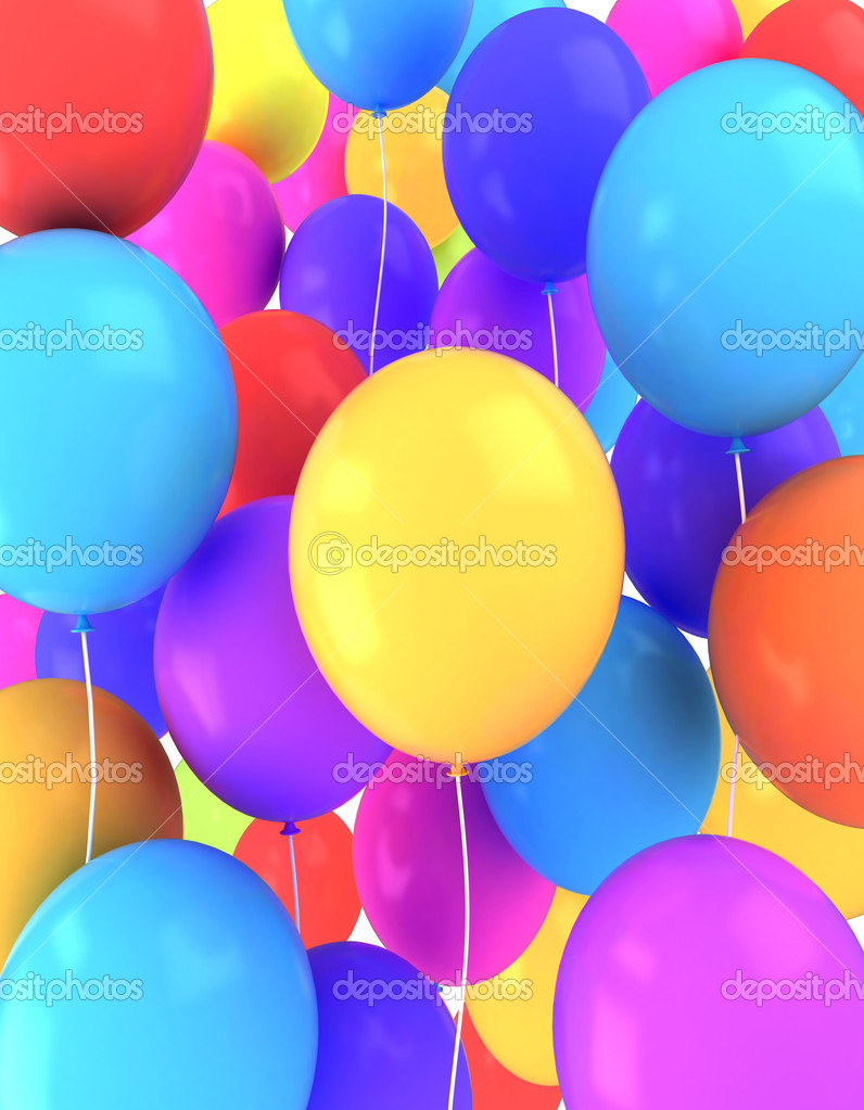 Balloons Background Stock Photo C Lenmdp 7599706