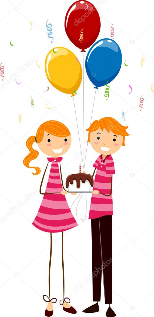 Открытка с днем рождения двойняшкам мальчикам 7 лет, день