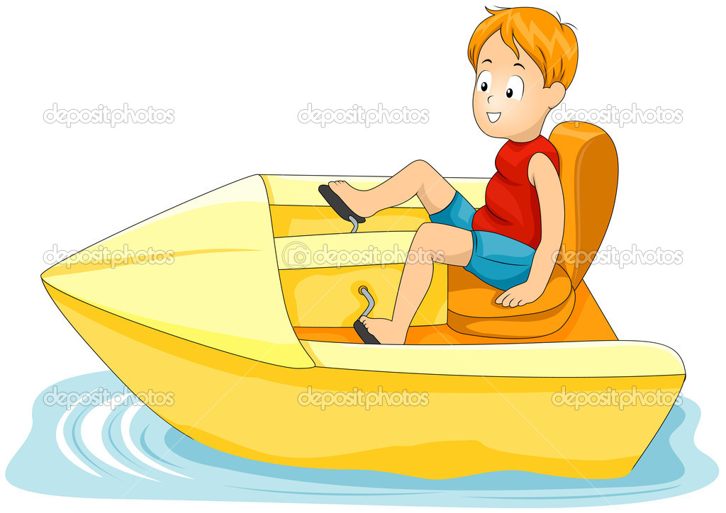 Paddle Boat Clip Art Illustrations  Clipart Guide