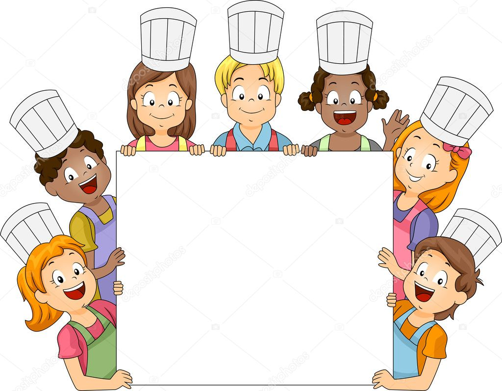 Cooking Club Board Stock Photo