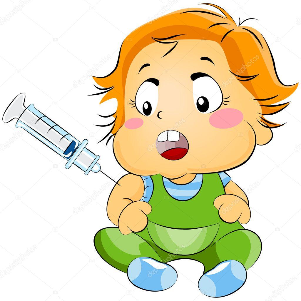 Прививка картинка детская