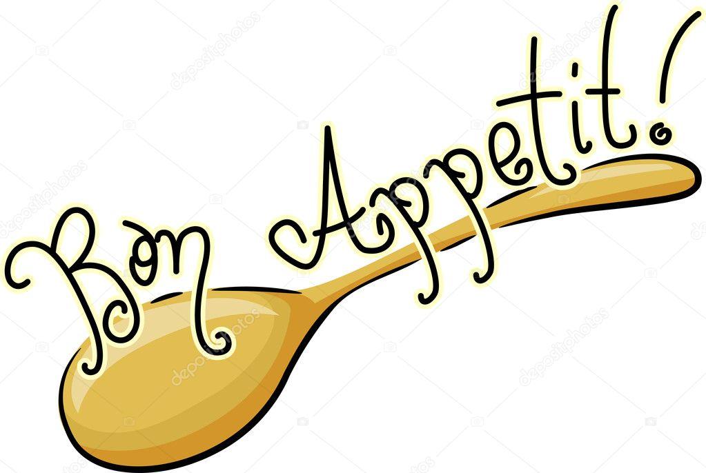 Bon appétit — photo de stock
