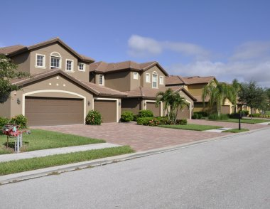 Typical homes in Naples Florida