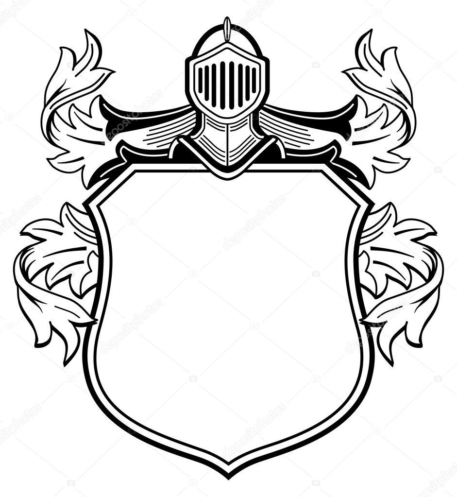 Knight's coat of arms
