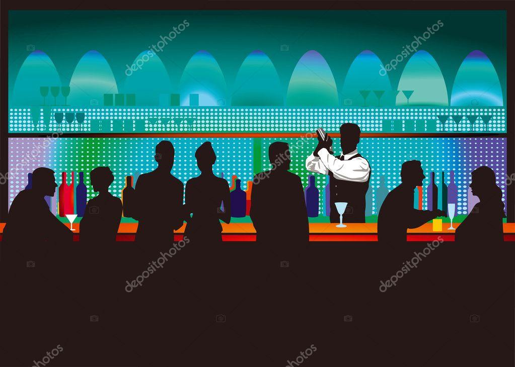 Bar and bartender
