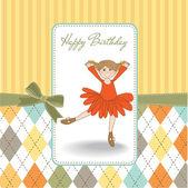 sladká dívka narozeniny blahopřání