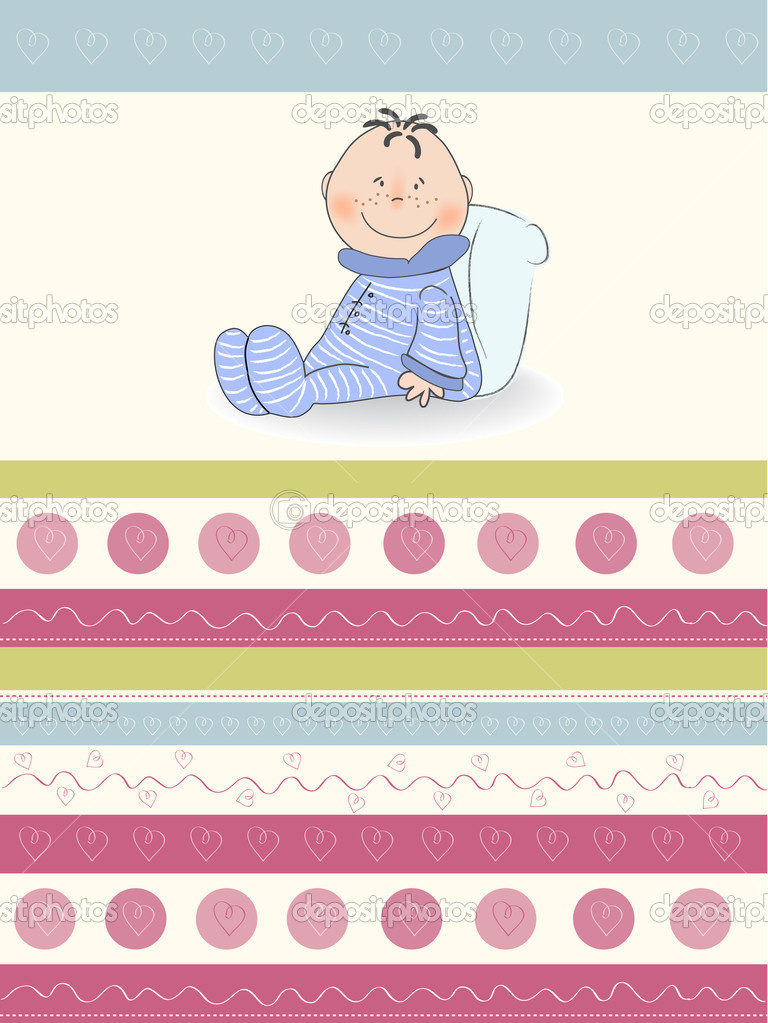 Greeting card with baby boy stok foto claudiabalasoiu 7202509 greeting card with baby boy claudiabalasoiu fotoraf m4hsunfo