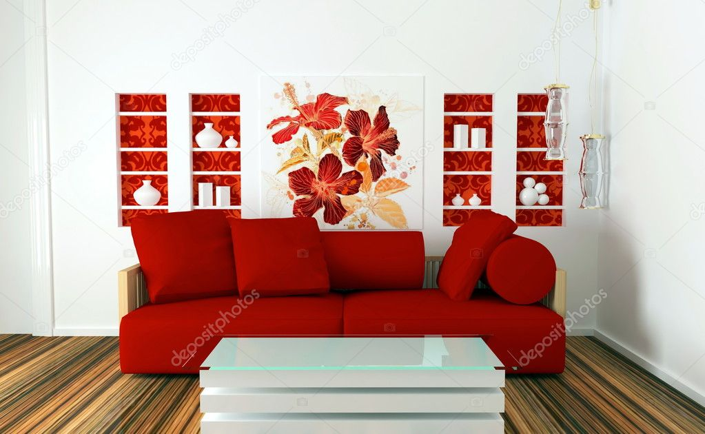 living room red and white sofa rojo muebles blancos 20170818033308 vangion 21075