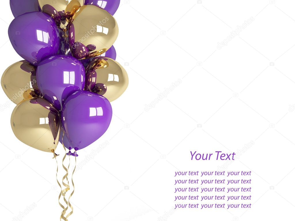 Áˆ Birthday Balloons Stock Pictures Royalty Free Birthday Balloon Images Photos Download On Depositphotos