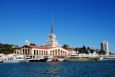 Sochi city marina
