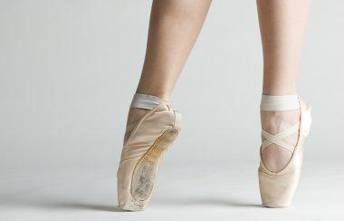 Ballet dancer's feet