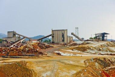 Copper mine, Minas de Riotinto, Andalusia, Spain
