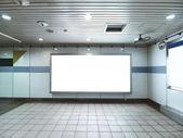 prázdné billboard