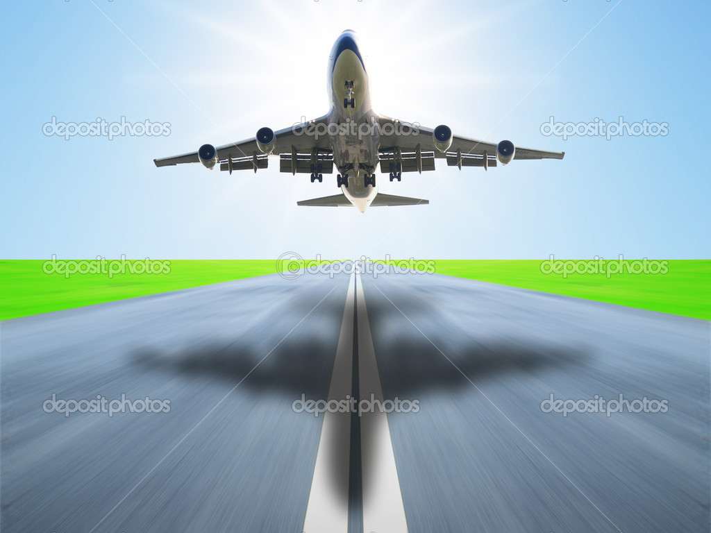 Airplane take off