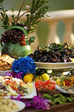 Colorful Tuscan Feast