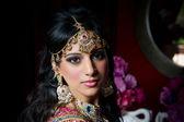Fotografie hinreißende indische Braut