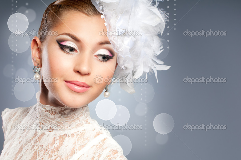 Beauty bride portrait