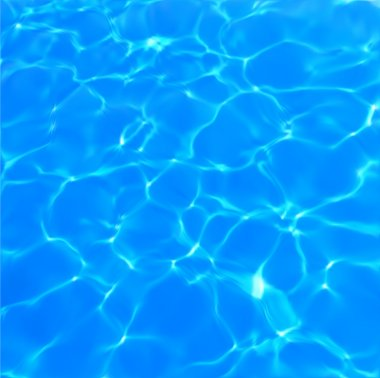Swimming Pool Water Texture. Vector