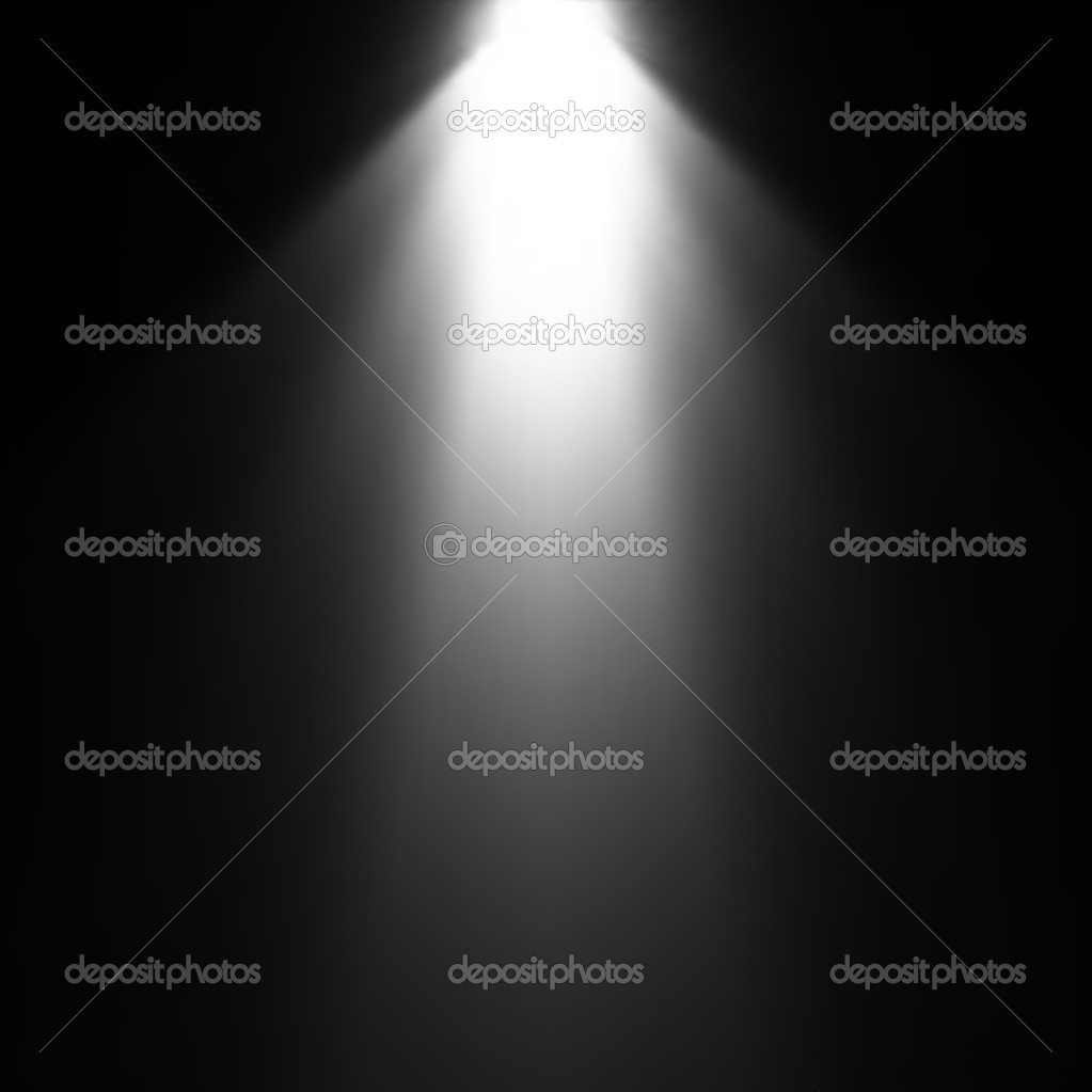Light Beam From Projector. Vector
