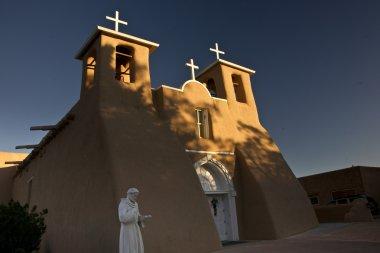 Taos Church at Dawn