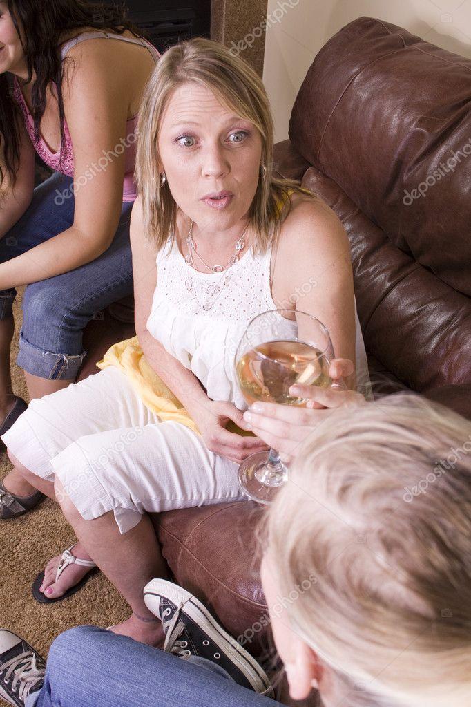 уговорил дочку потрахатся