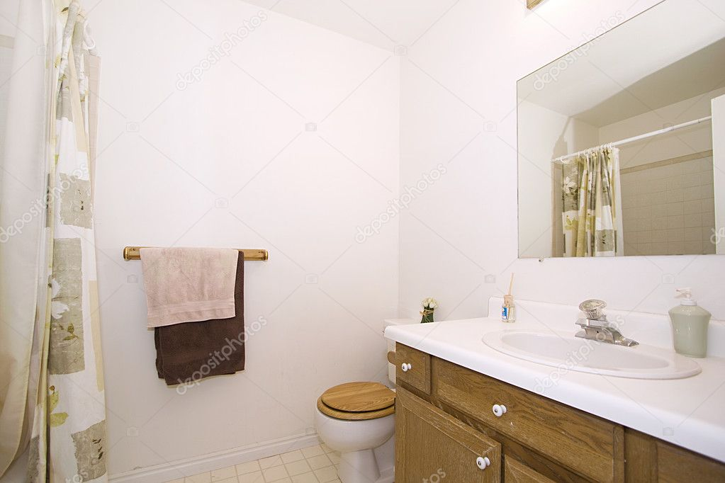 Ванная комната крупным планом