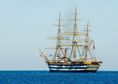 Ancient sailing vessel