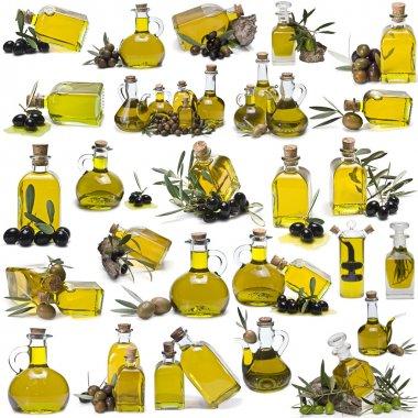 Great olive oil bottles set.