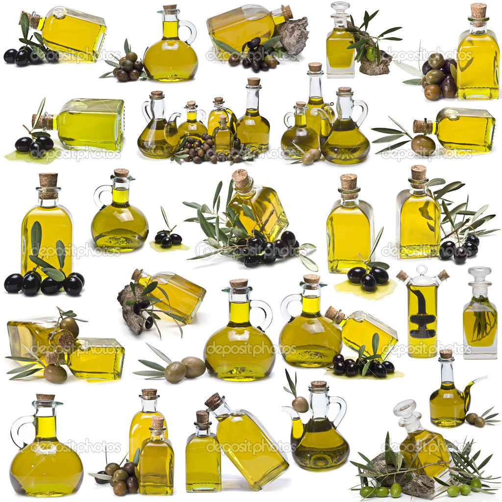 Great olive oil bottles set.