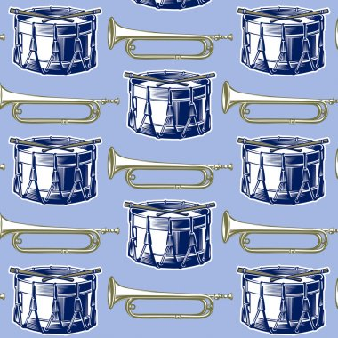 Music jazz band background