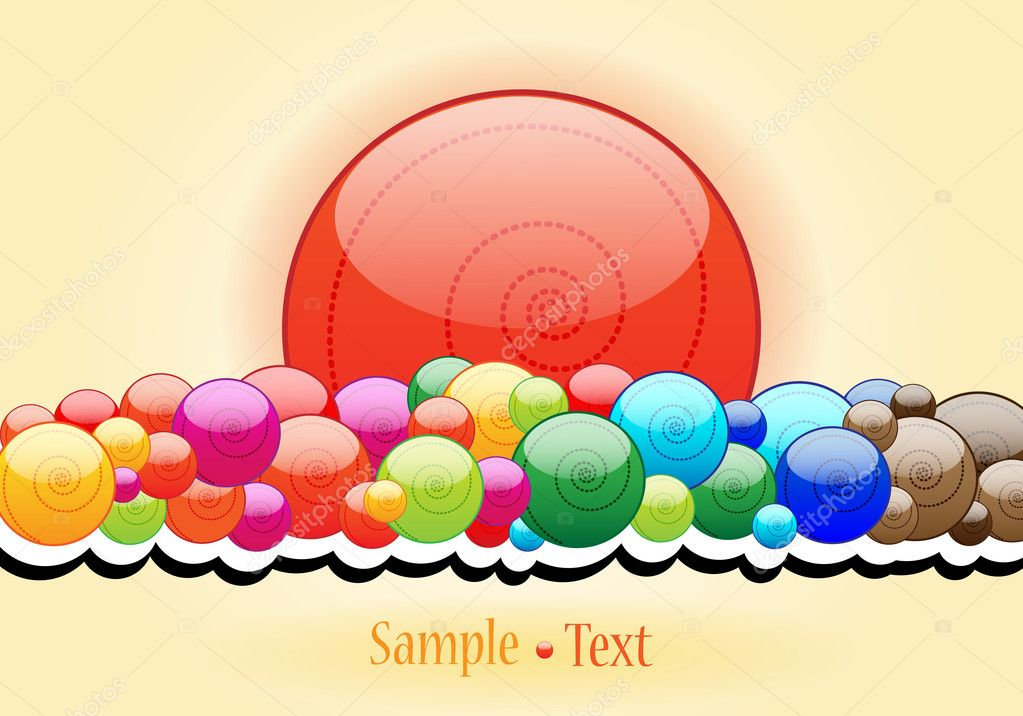 elegant candy themed background stock vector glyph studio 7325493