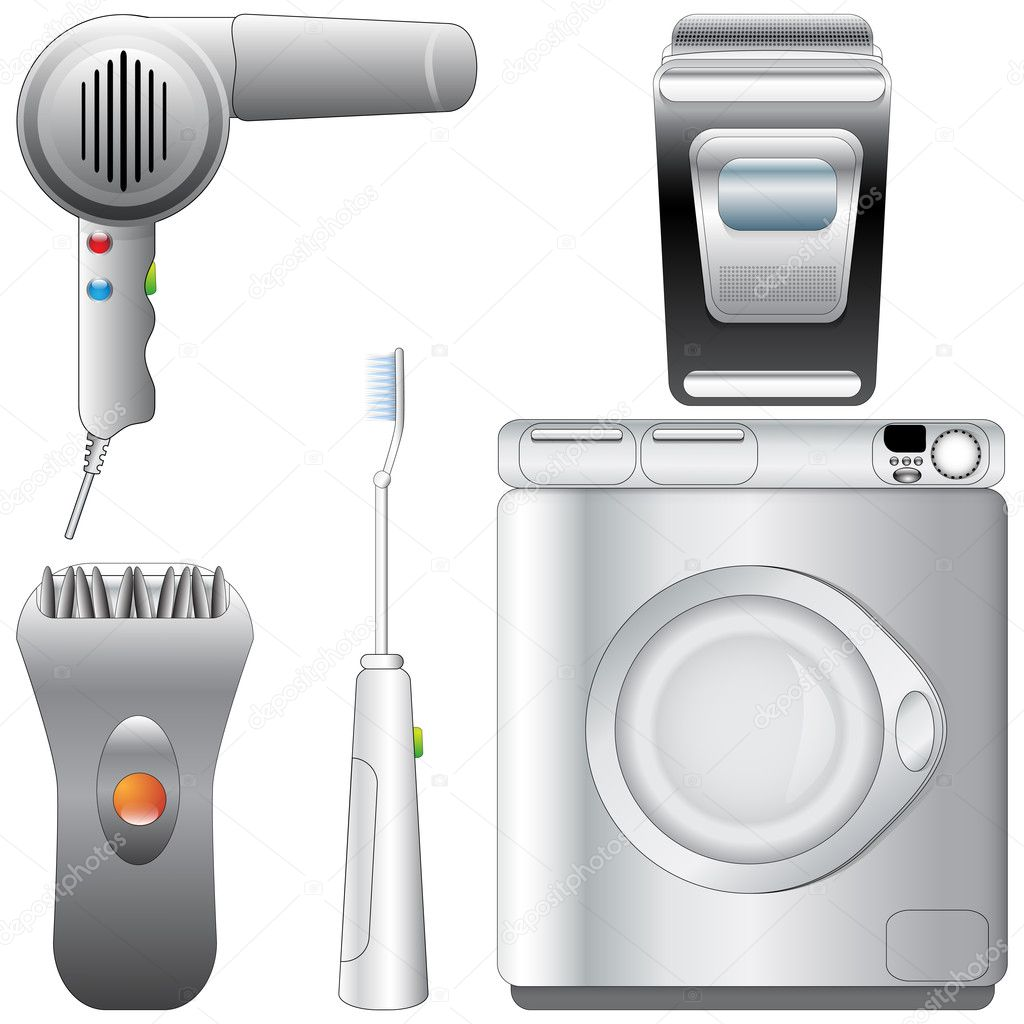 Bathroom appliances for Restroom appliances