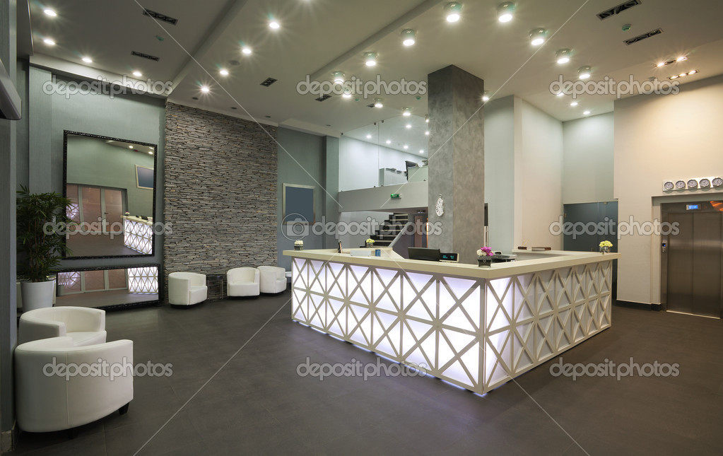 Hotel reception stock photo krsmanovic 7599744 for Design office 4100