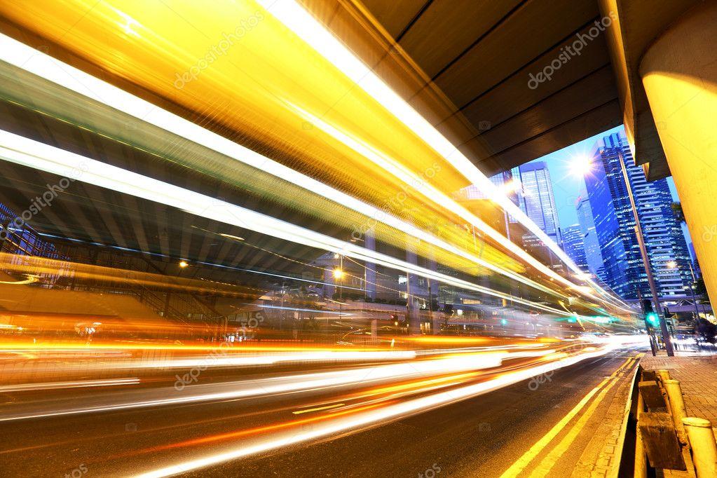 Фотообои Highway at night