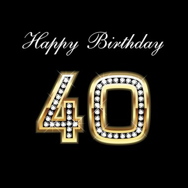 Happy Birthday 40th