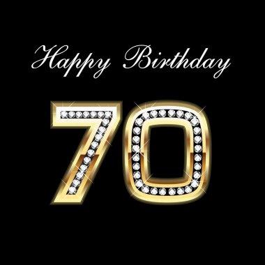 Happy Birthday 70th