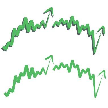 stock index, upward.