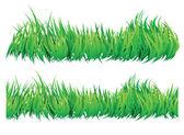 bezešvé přirozené vypadající tráva