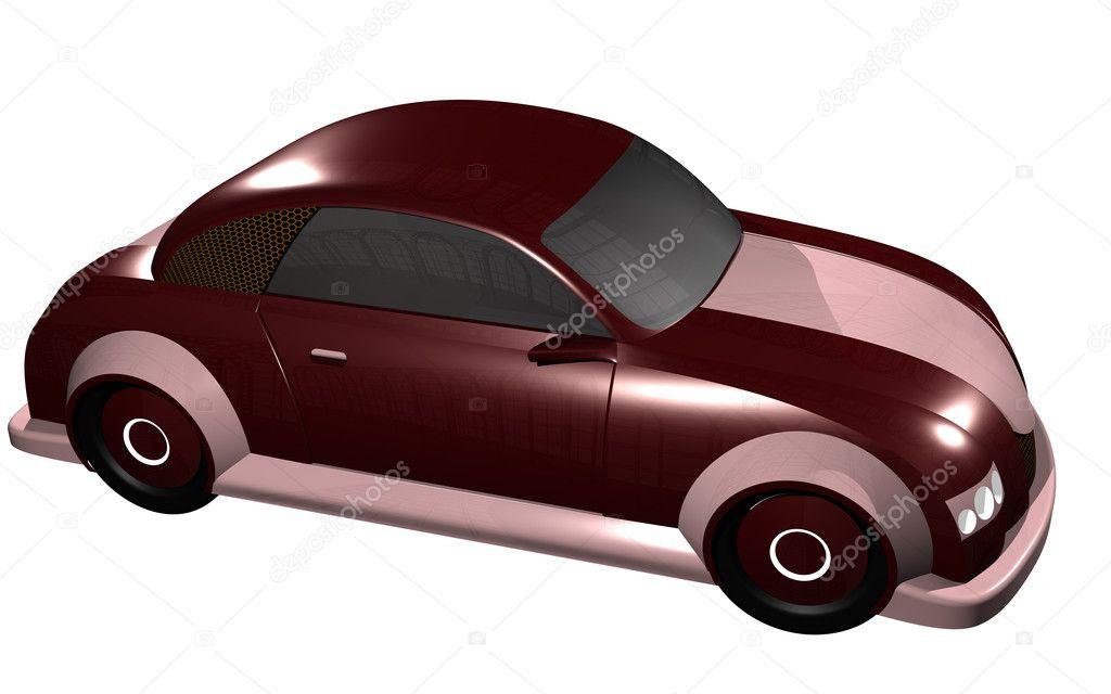 Pink Sport Car For Women Stock Photo C Helea Pusta 7284373