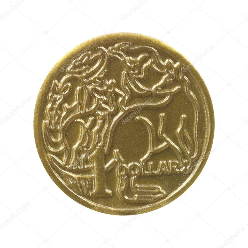 Australischer Dollar Münze Stockfoto Kitchbain 7242536