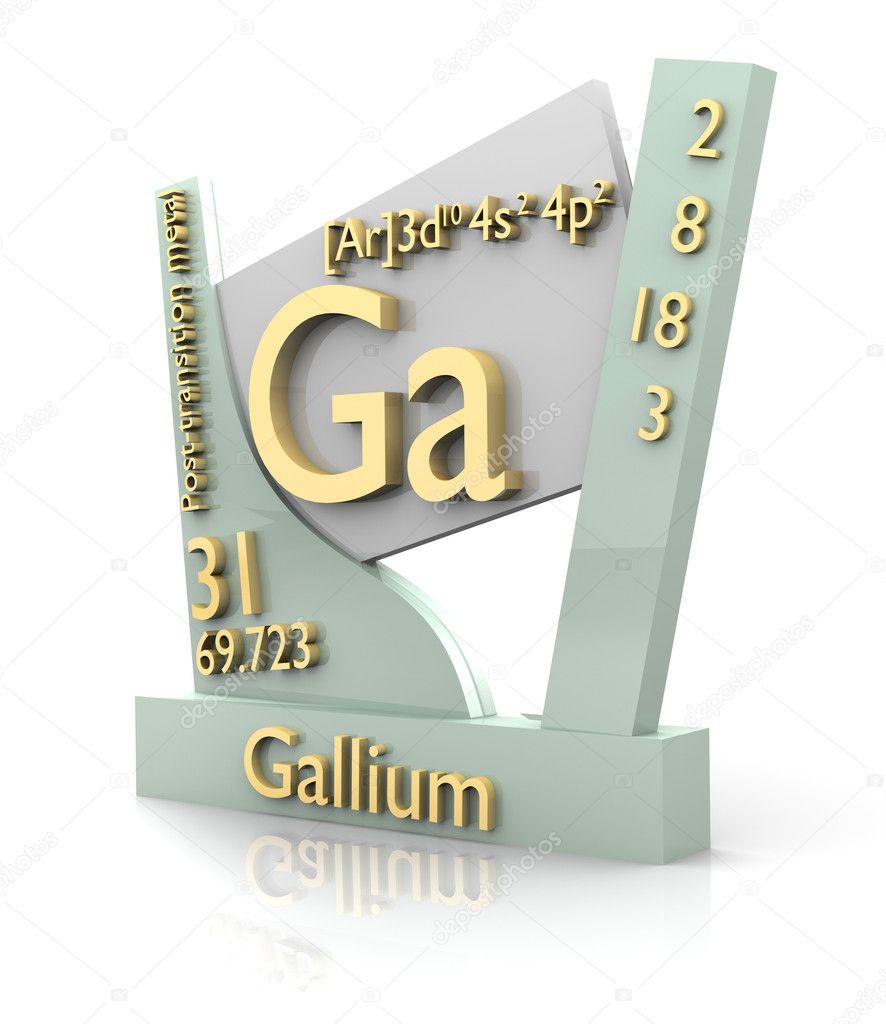 galio forma tabla peridica de elementos v2 fotos de stock - Tabla Periodica De Los Elementos Galio