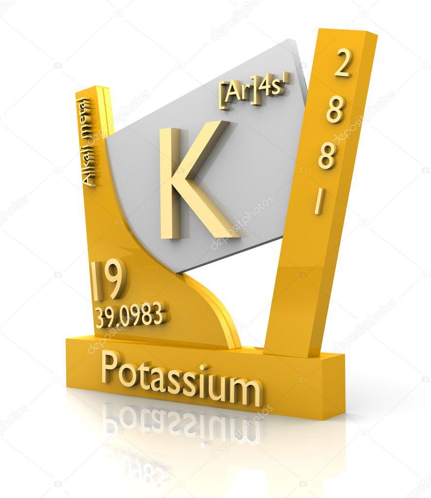 Potassium form periodic table of elements v2 stock photo potassium form periodic table of elements v2 stock photo urtaz Images
