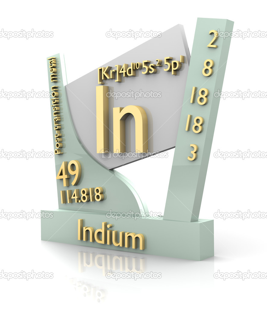 Indium form periodic table of elements v2 stock photo indium form periodic table of elements v2 stock photo biocorpaavc Images