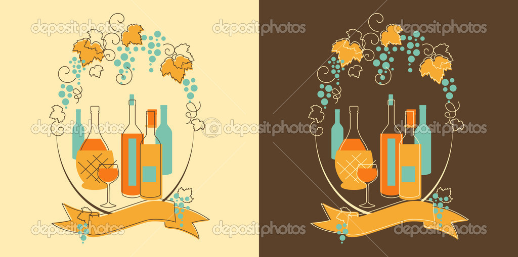 Wine and Grape Banner