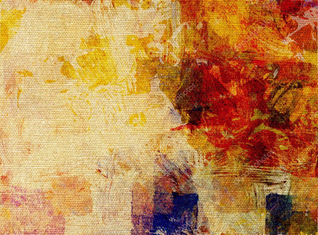 Glacis De Peinture Sur Toile Structure Photographie Mobilee 7824362