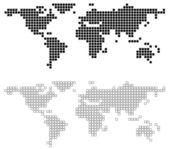 Fotografie abstraktní svět mapa
