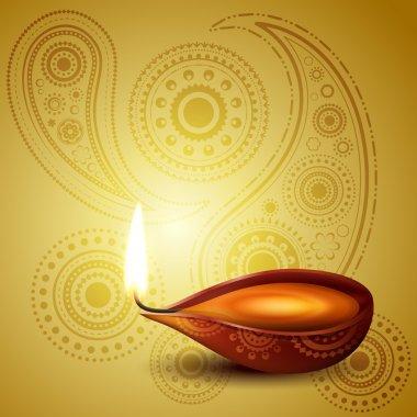 beautiful hindu diwali festival vector art